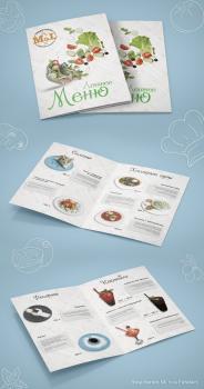 """Дизайн летнего меню для кафе """"M&L"""""""
