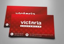 Логотип и визитка для магазина нижнего белья
