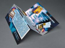 Advertising booklet