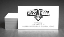 Дизайн визитки для Bliss Mood