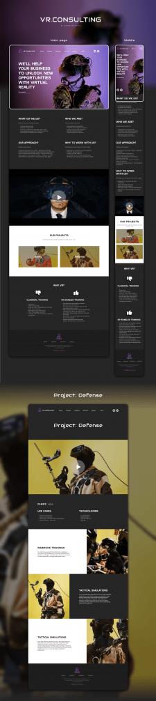 VR.Consulting  Design/Web-design/UI/UX
