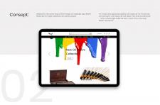 Artshop website design