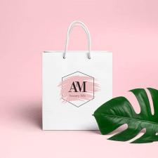 Логотип для салона красоты AM
