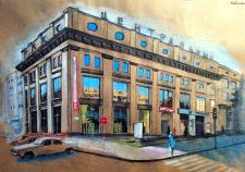 здание,илюстрация
