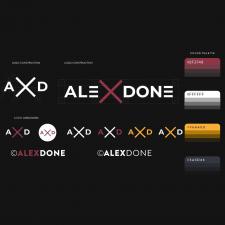 логотип для AleXDone
