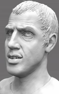 Адриано Челентано. Портретная композиция