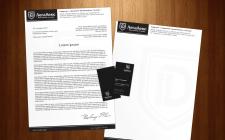 Фирменный бланк и визитки для юридической компании