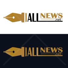 Лого для сайта новостей. Вектор