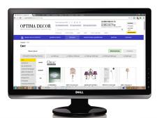 Наполнение товаром интернет-магазина Оptima Decor