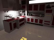 Кухня сцена