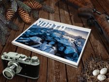 """Обложка фото книги """"Ледяное сердце севера"""""""