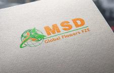логотип для MSD Flower