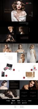 Сайт визитка салона красоты