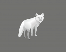 иллюстрация, лисичка