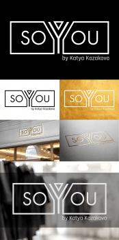 Логотип для бренда современной одежды SO YOU