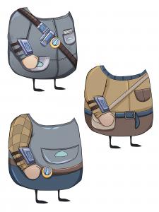 Тела-одежда для персонажа мужчины