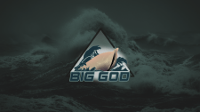 """Big God"" logotype for sport team"