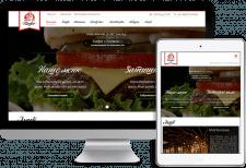 Разработка сайта на WP для кафе Мамин хліб