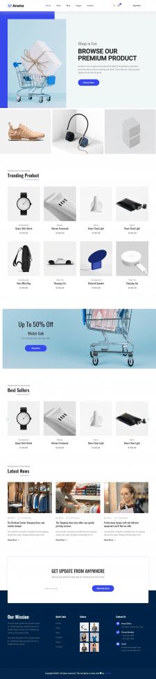 Интернет-магазин на Wordpress