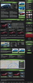 """Дизайн сайта для автоклуба """"Mazda"""""""
