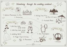 Свадебная карта