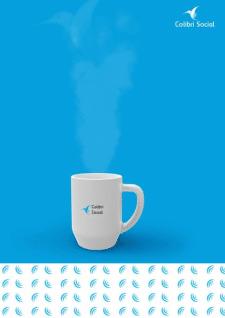 Логотип для бренда Colibri Social