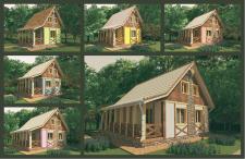 Серія каркасних будиночків