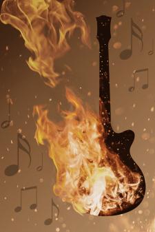 Guitar&Fire