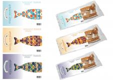 Наклейка для упаковки рыбы