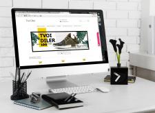 TVOI DILER banners for online store V.1