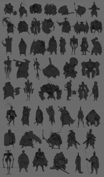 Thumbnails characters