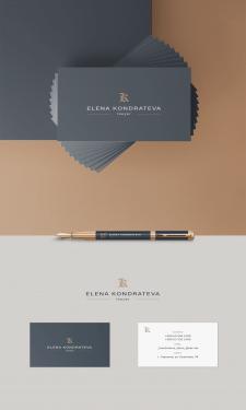 Дизайн логотип и визитка для юриста Кондратьевой Е