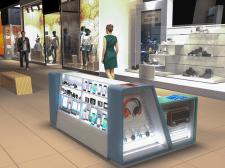 Дизайн та візуалізація торгового острівця