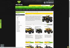 Наполнение интернет-магазина Мотокам