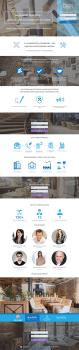 Лендинг-страница строительной компании