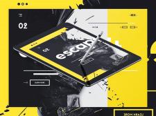 Разработка дизайна сайта и приложения