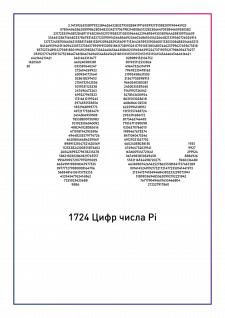1724 цифры числа Пи