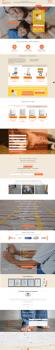 Landing Page для компании «Тепло Маркет»