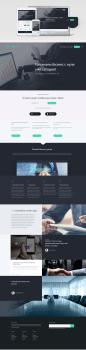 Прототип дизайна Landing Page
