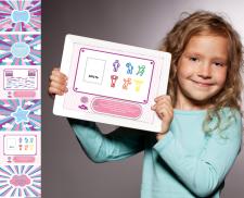 Дизайн игрового приложения для детей:)