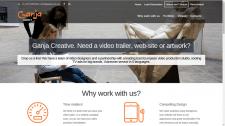 Ganja - корпоративный сайт