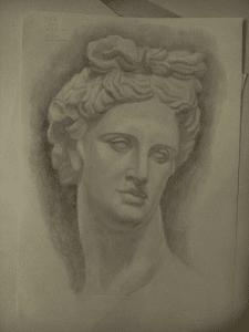 Рисунок Аполлона