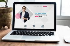 Сайт для HR агенства. Лондон