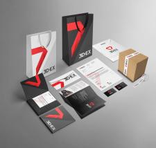 Брендирование для компании по 3D печати — 3D-EX