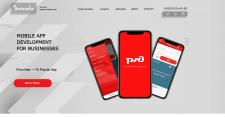 Сайт производителя мобильных приложений