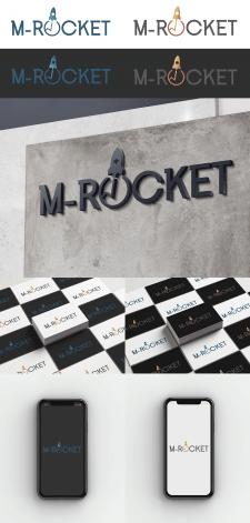 Логотип M-Rocket внедрение CRM