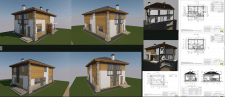 Инд. проект 2-ого коттеджа в г.Одесса
