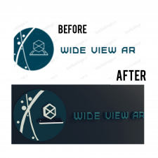 С 2д логотипа в 3д