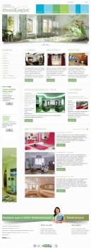 Сайт о дизайне интерьера