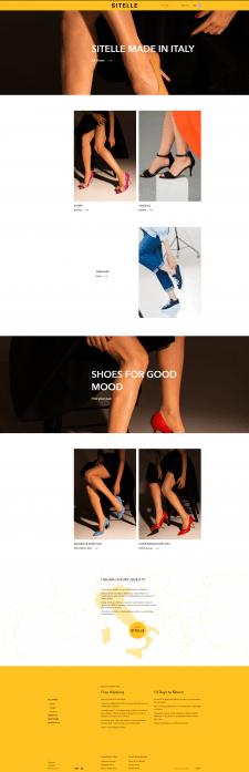 Разработка интернет-магазина Sitelle Store